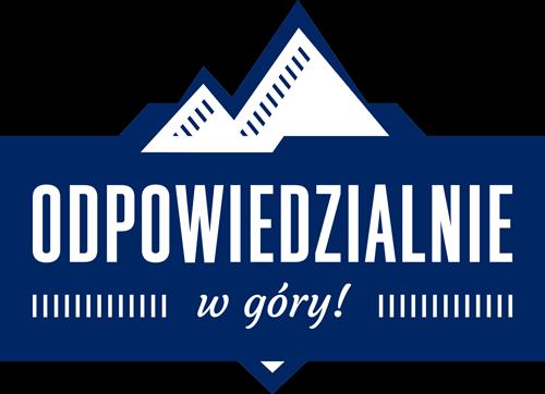 Odpowiedzialnie w góry Logo